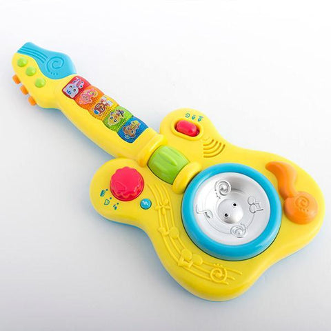Image of Children's Guitar with Lights and Sound-Universal Store London™