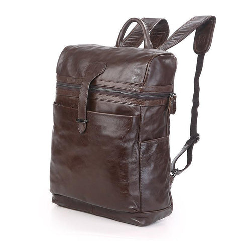 Image of 'Chiron' Handmade Leather Backpack-Universal Store London™