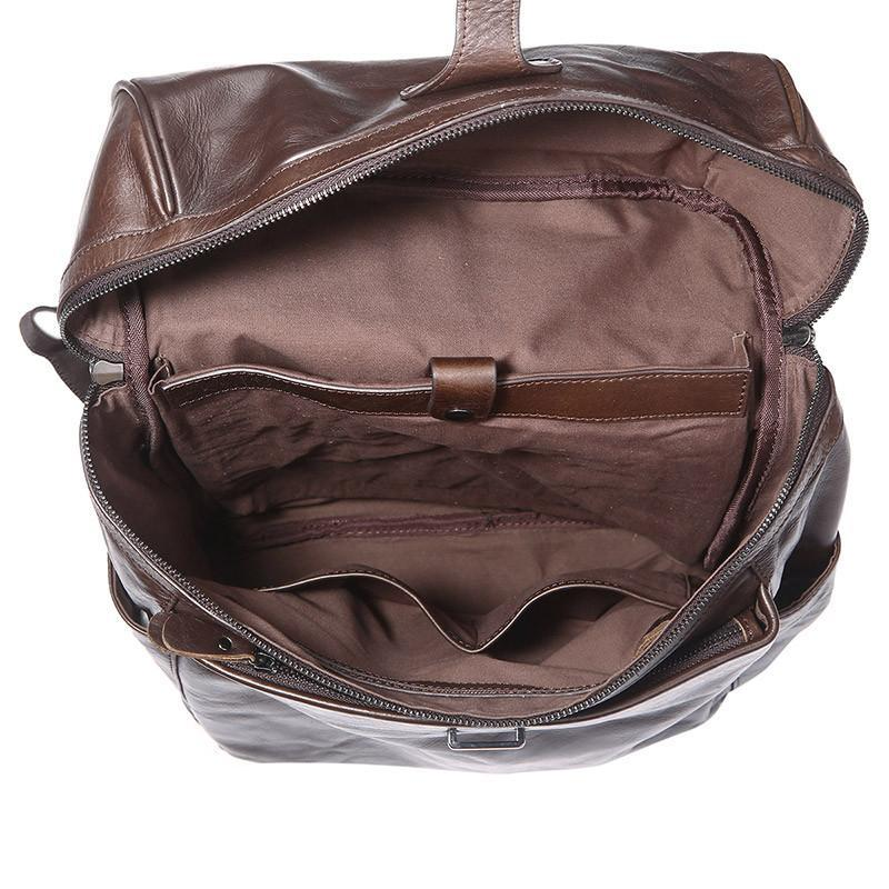 'Chiron' Handmade Leather Backpack-Universal Store London™