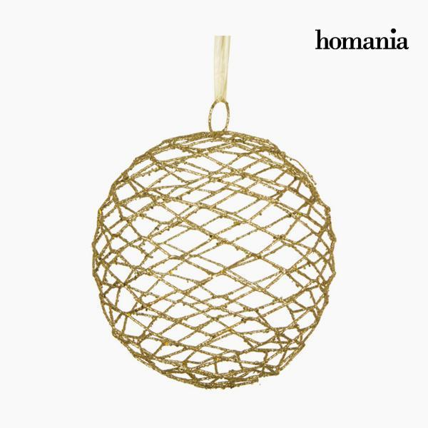 Christmas Bauble Iron Golden by Homania-Universal Store London™