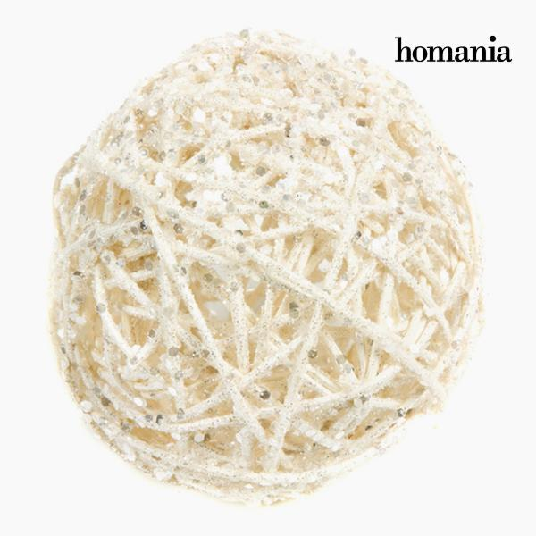 Christmas Baubles White Gold (4 pcs) by Homania-Universal Store London™