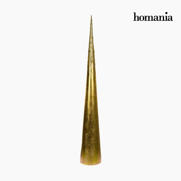 Christmas Tree Iron Golden (12 x 12 x 80 cm) by Homania-Universal Store London™