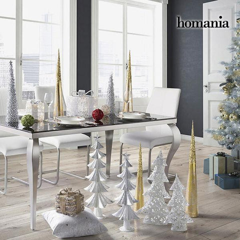 Image of Christmas Tree Iron Silver (25 x 10 x 45 cm) by Homania-Universal Store London™