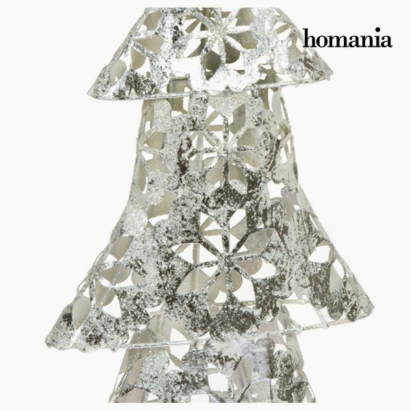 Christmas Tree Iron Silver (25 x 10 x 45 cm) by Homania-Universal Store London™