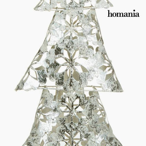 Image of Christmas Tree Iron Silver (30 x 12 x 60 cm) by Homania-Universal Store London™
