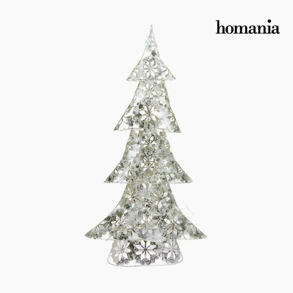 Christmas Tree Iron Silver (30 x 12 x 60 cm) by Homania-Universal Store London™