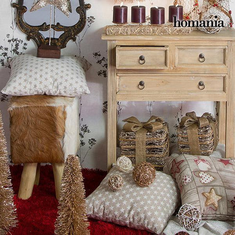 Image of Christmas Tree Rattan Champagne (20 x 20 x 60 cm) by Homania-Universal Store London™