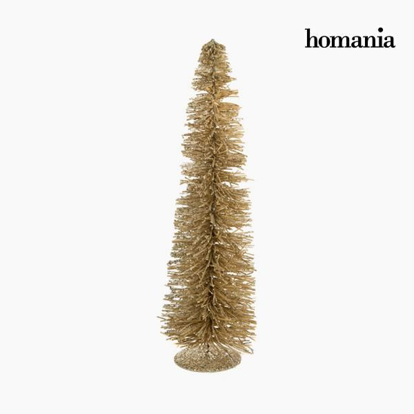 Christmas Tree Rattan Champagne (20 x 20 x 60 cm) by Homania-Universal Store London™