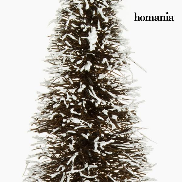 Christmas Tree Rattan Natural White (20 x 20 x 60 cm) by Homania-Universal Store London™