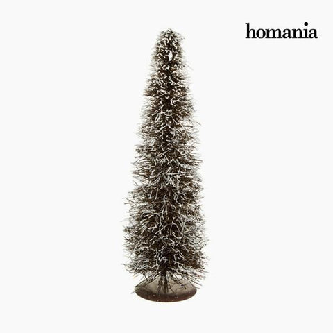 Image of Christmas Tree Rattan Natural White (20 x 20 x 60 cm) by Homania-Universal Store London™