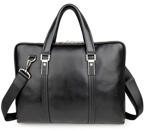 Image of City Leather Portfolio Briefcase-Universal Store London™