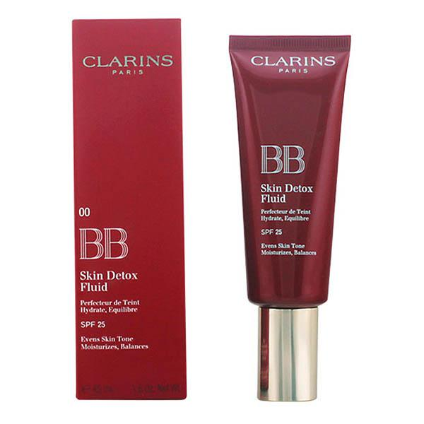 Clarins - BB SKIN DETOX fluid SPF25 00-fair 45 ml-Universal Store London™