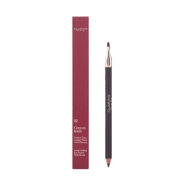 Clarins - CRAYON khôl 02-intense brown 1.5 gr-Universal Store London™