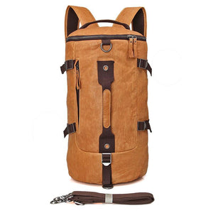 Classic Leather Barrel Shoulder Bag Handbag Backpack-Universal Store London™