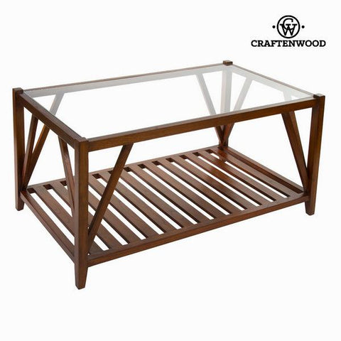 Coffee table with glass - Serious Line Collection by Craftenwood-Universal Store London™