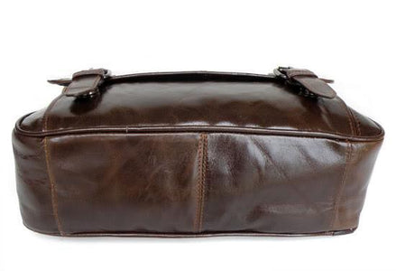 Colombo Distressed Leather Messenger Bag-Universal Store London™