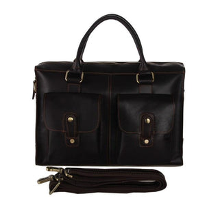 Conrad Leather Briefcase-Universal Store London™