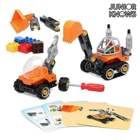 Construction set Junior Knows 1266 (38 pcs)-Universal Store London™
