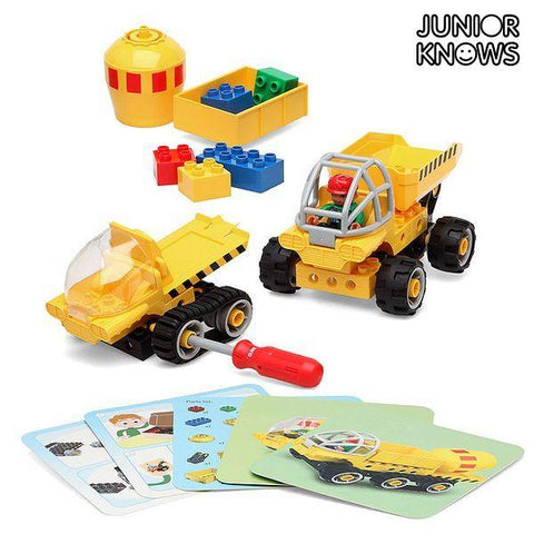 Construction set Junior Knows 1280 (38 pcs)-Universal Store London™