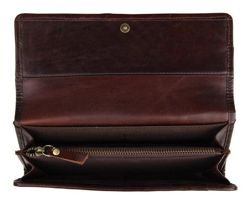 Image of Continental Leather Purse-Universal Store London™