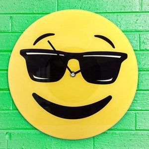 Cool Emoticon Wall Clock-Universal Store London™