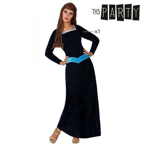 Costume for Adults Th3 Party 346 Medieval lady-Universal Store London™