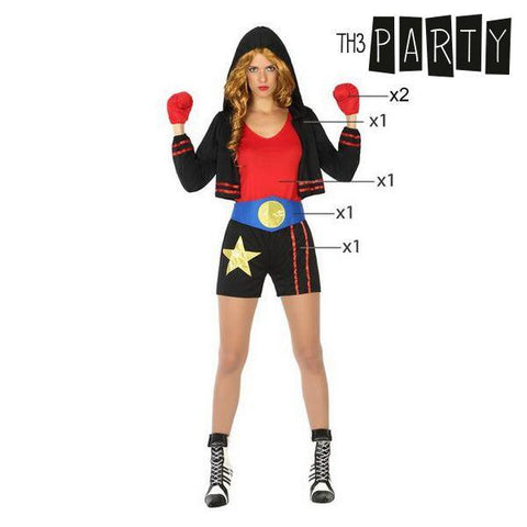 Costume for Adults Th3 Party Female boxer-Universal Store London™