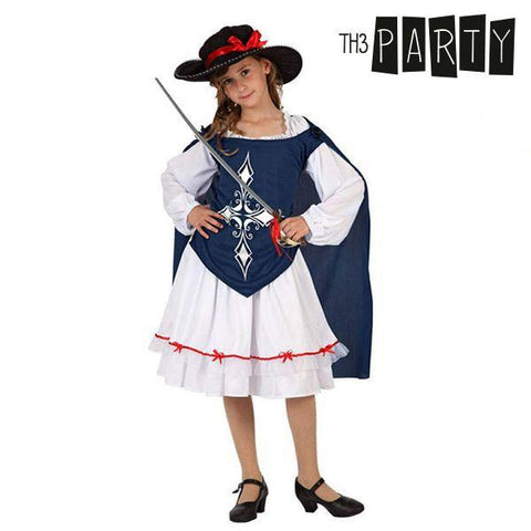 Costume for Children Th3 Party Female musketeer-Universal Store London™