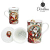 Cup with Box Christmas Planet 4230 Father christmas-Universal Store London™