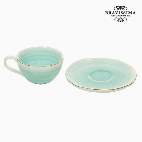 Cup with Plate - Queen Kitchen Collection by Bravissima Kitchen-Universal Store London™