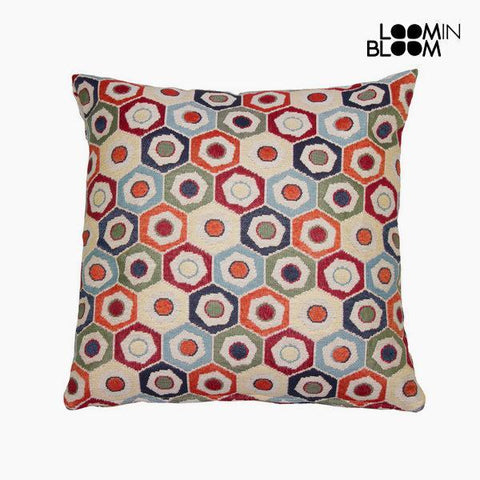 Image of Cushion, hexagon by Loom In Bloom-Universal Store London™