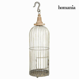 Decorative grey metal cage - Art & Metal Collection by Homania-Universal Store London™
