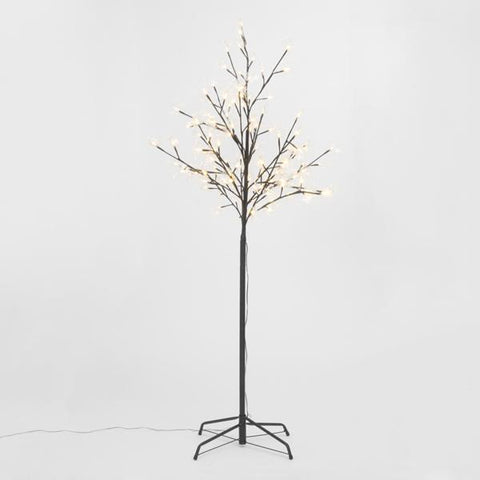 Image of Decorative Tree with Leaves (120 LED)-Universal Store London™