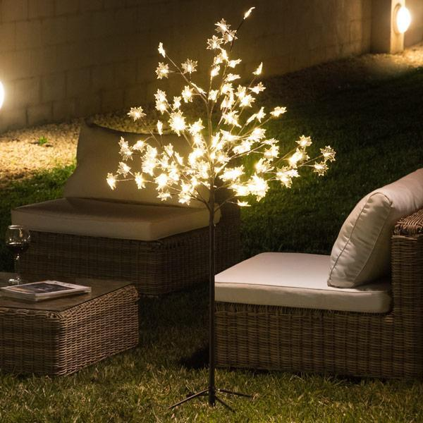 Decorative Tree with Leaves (120 LED)-Universal Store London™