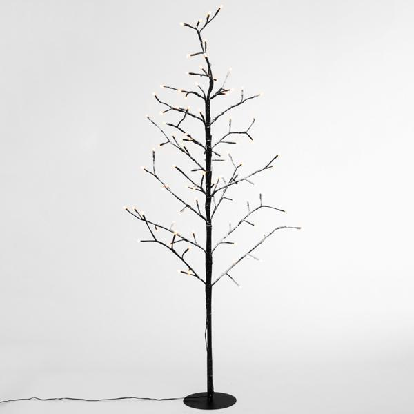 Decorative Tree with Snow (96 LED lights)-Universal Store London™