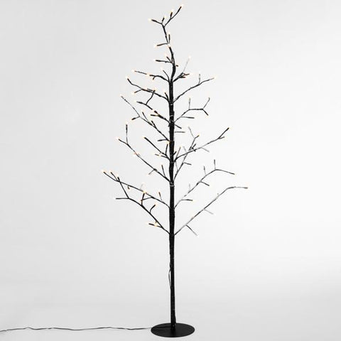 Image of Decorative Tree with Snow (96 LED lights)-Universal Store London™