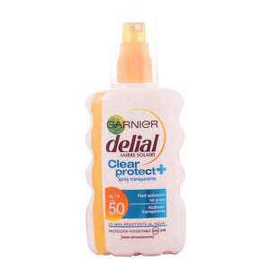Delial - DELIAL CLEAR PROTECT spray transparente SPF50+ 200 ml-Universal Store London™