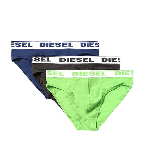 Diesel Men's Briefs 00SH05-0GAFN-176 (Pack of 3)-Universal Store London™