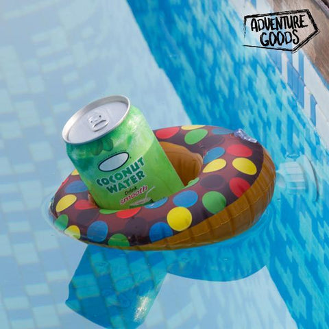 Image of Donut Adventure Goods Floating Drink Holder-Universal Store London™
