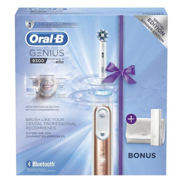 Electric Toothbrush Oral-B 224131 3D Bluetooth Waterproof Pink Rechargeable battery-Universal Store London™
