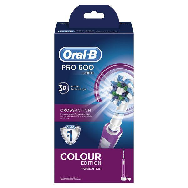 Electric Toothbrush Oral-B 600 Pro Purple-Universal Store London™