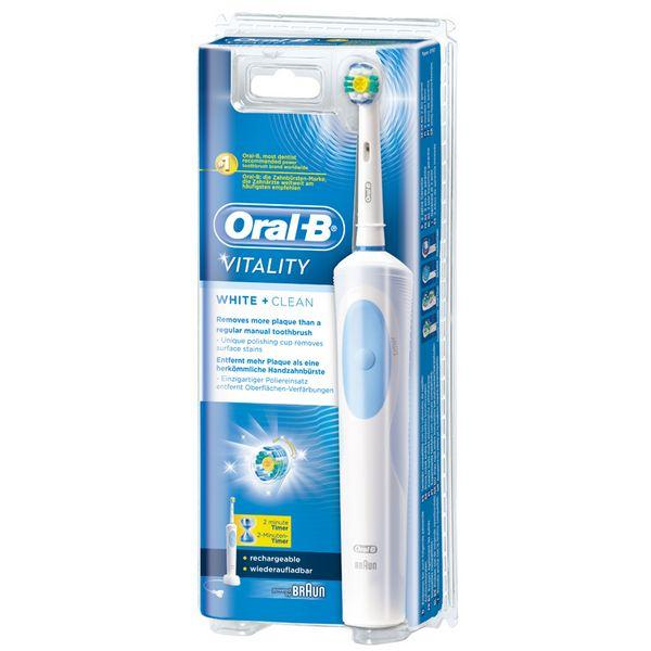 Electric Toothbrush Oral-B White & Clean Vitality-Universal Store London™