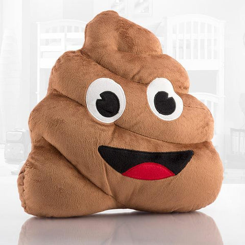 Image of Emoji Poo Cushion-Universal Store London™