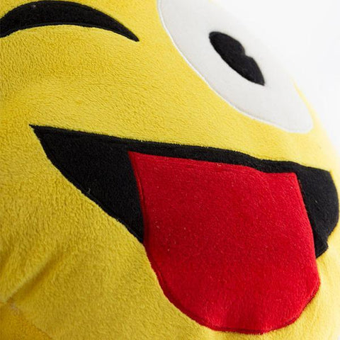 Emoji Wink Cushion-Universal Store London™