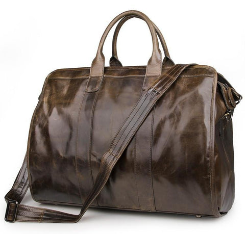 Explorer Leather Holdall-Universal Store London™