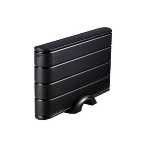 "External Box TooQ TQE-3530B HDD 3.5"" SATA III USB 3.0 Black-Universal Store London™"