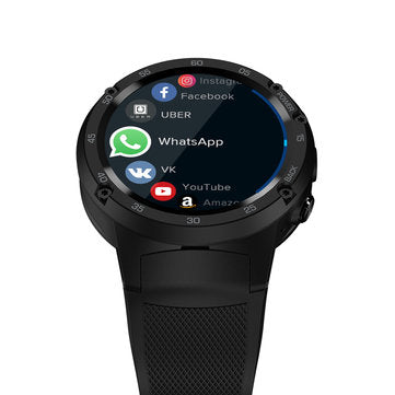 Zeblaze THOR 4 1.39 inch Amoled 4G LTE 1GB+16GB GPS WIFI Android 7.0 5.0MP Camera Smart Watch