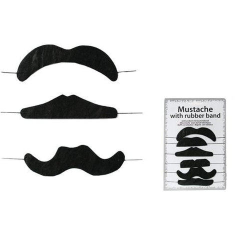 Image of Fake Moustaches (pack of 6)-Universal Store London™