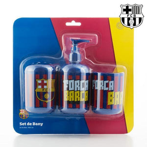 F.C. Barcelona Bath Accessories (3 pieces)-Universal Store London™