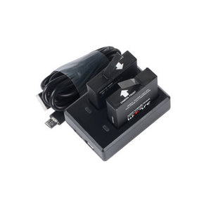 SJCAM SJ8 Dual-Slot Battery Charger Travel Charger for SJCAM SJ8 Series Action Cameras-Universal Store London™